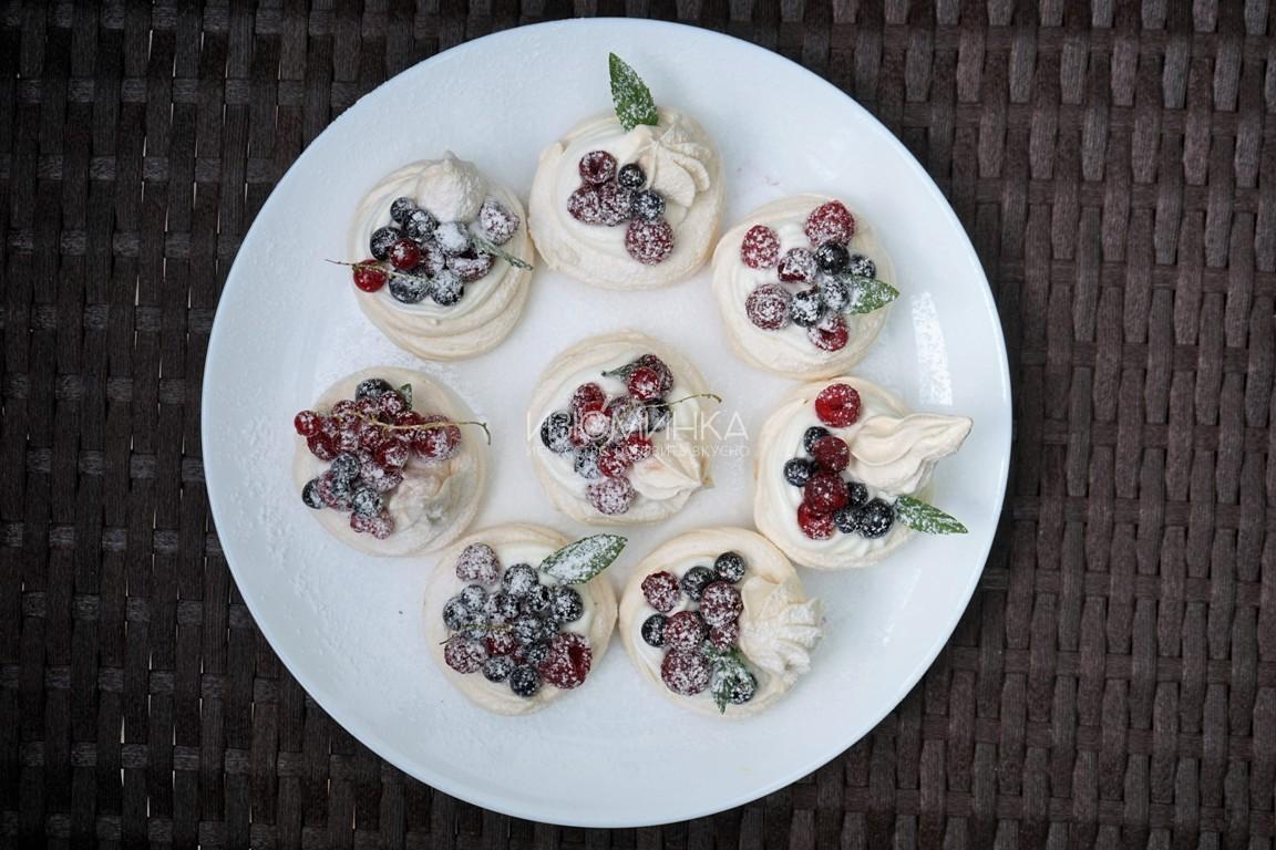 пирожное павлова рецепт