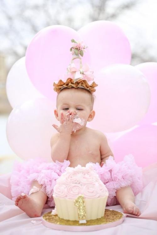 Первый торт ребенка — Smash Cake.