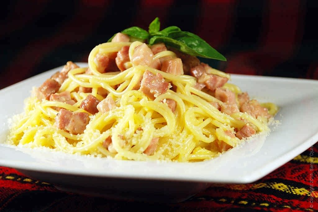 Классическая спагетти-карбонара
