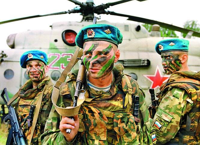 Универсальный солдат: американский морпех или русский десантник. Кто круче?