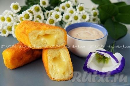 ЗАКУСОЧНЫЙ ДЕНЬ. Картофельные палочки с сыром