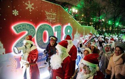 В Москве открыты сотни праздничных площадок