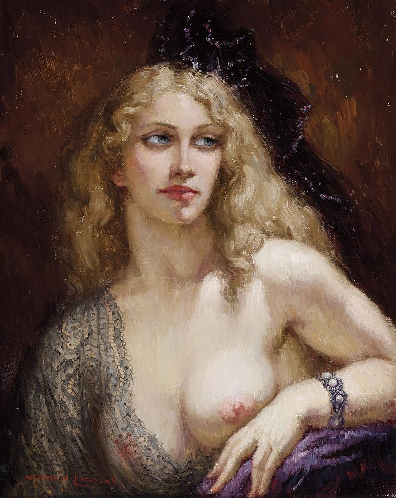 Прелестные нимфы, козлоногие обольстители и демоны в картинах Нормана Линдсея 56