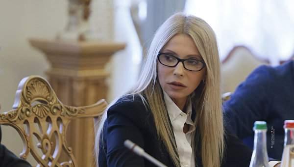 Тимошенко раскрыла подробнос…