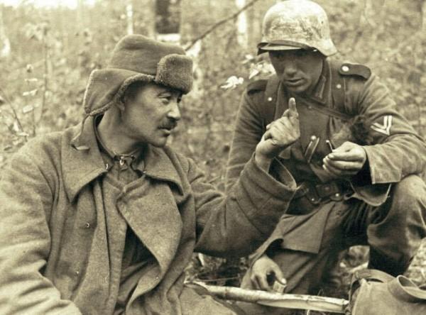 Как общались немецкие и советские солдаты вне боя