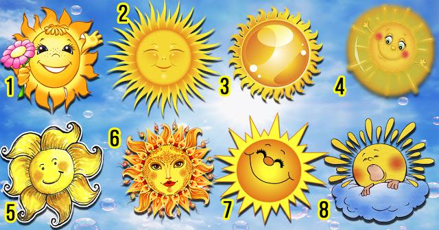 Выберите солнышко и узнайте о себе что-то интересное