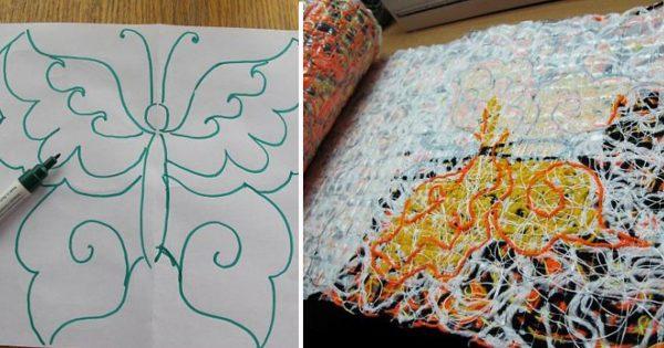 Как создать теплый и эксклюзивный осенний шарф в технике крейзи вул