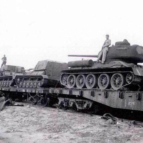 Бронетехника Корейской войны: Советские Т-34 и СУ-76