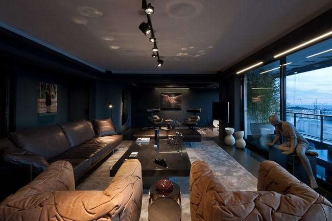 Изысканный дизайн интерьера от студии дизайна Omerta