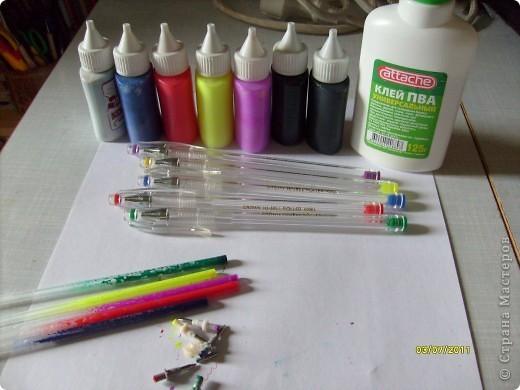 Мастер-класс: когда нет под рукой витражных красок................ Фото 6
