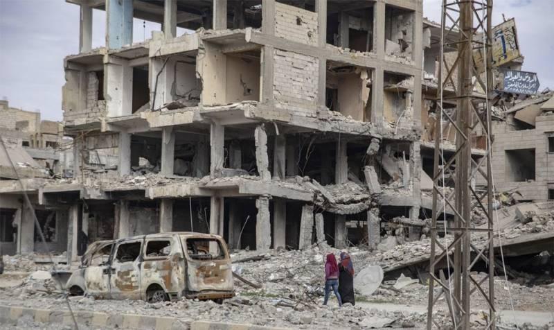 Пентагон: Фосфорные бомбы в Сирии? Это не мы...