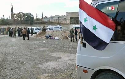В Сирии беженцев обеспечили жильем в провинции Хама