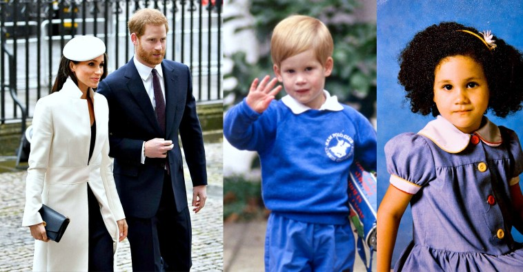 Как выглядели в детстве члены королевской семьи Великобритании