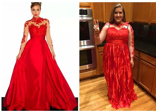 """""""Просто вспомните эту фотографию, если вам в голову придет идея покупать праздничное платье онлайн"""""""
