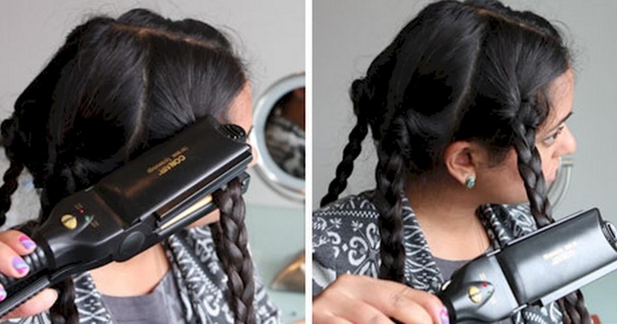 Укладка волос без утюжка