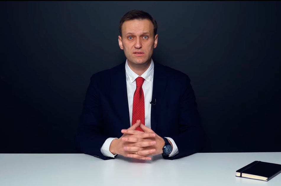 Навальный бастует