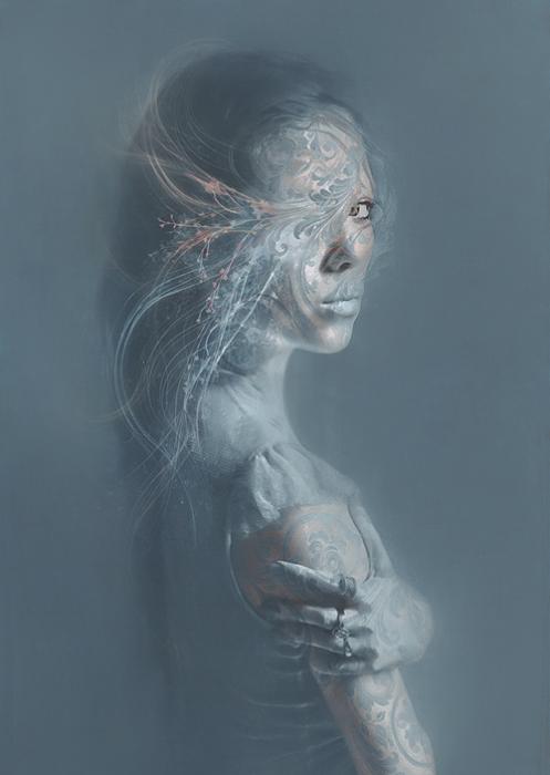 Взгляд. Автор работ: фото-иллюстратор Лесли Энн О'Делл (Leslie Ann O'Dell).