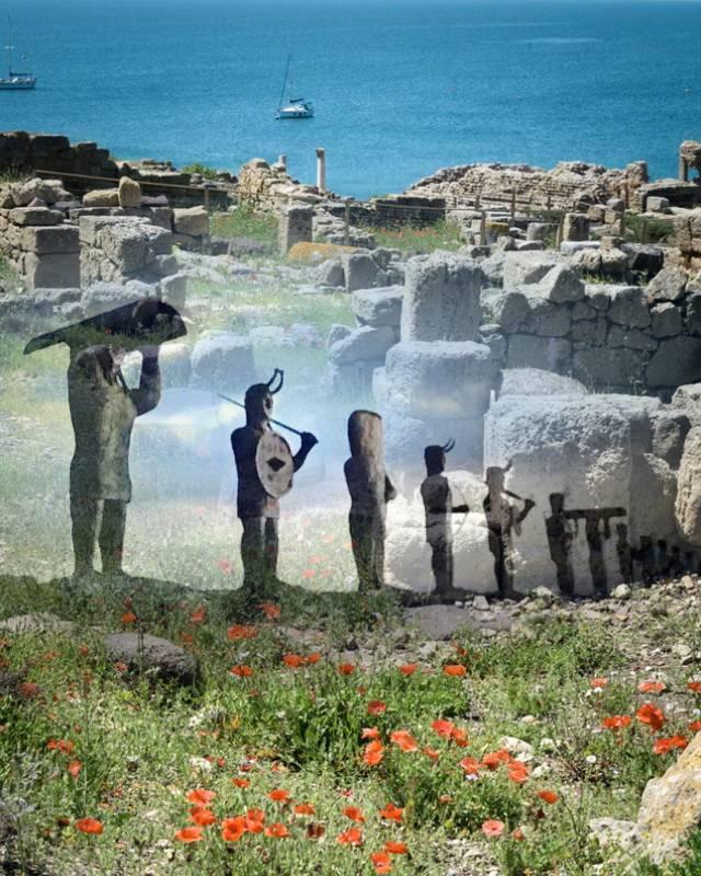 Гиганты Сардинии — таинственные древние статуи с неземными глазами