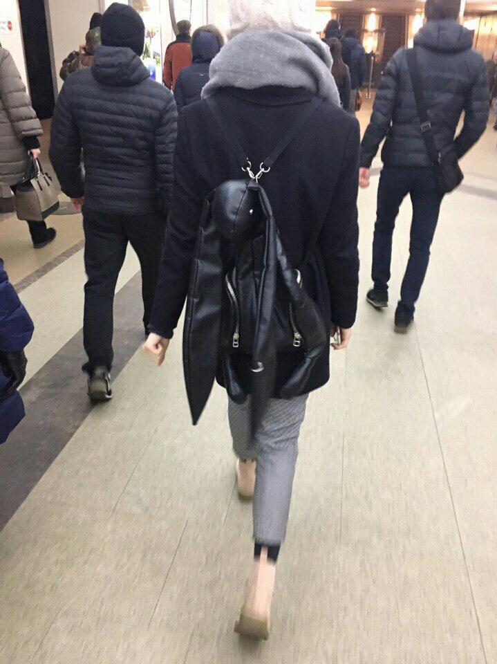 Рюкзак - кролик