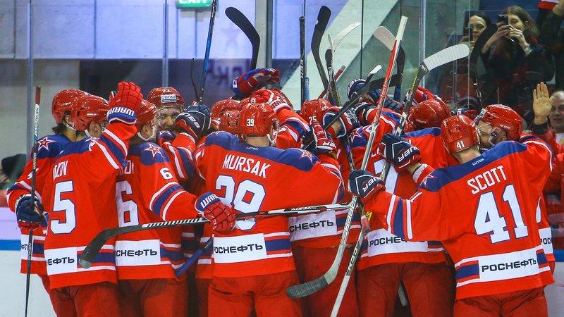 СКА и ЦСКА – лучшие в рейтинге клубов КХЛ, «Ак Барс» – на пятой строчке