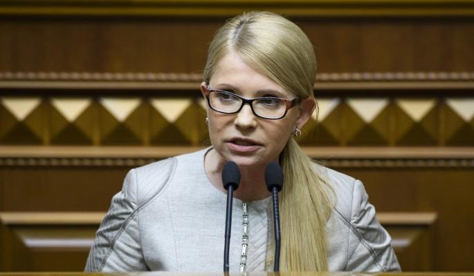 Тимошенко разболтала план по…