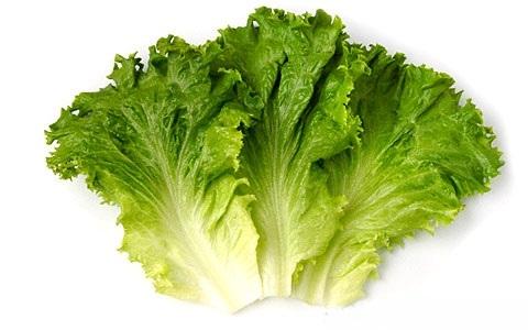 6 масок из листового (или кочанного) салата