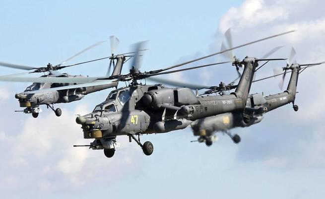 Россия показала свой самый «ударный» вертолет Ми-28НМ