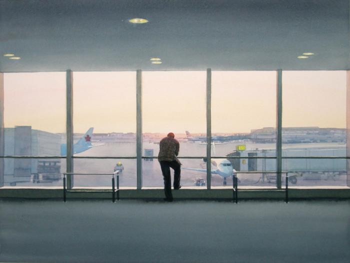 Аэропорт. Автор: Tim Gardner.