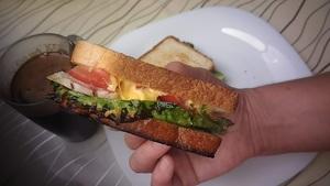 Горячий супер-сэндвич!