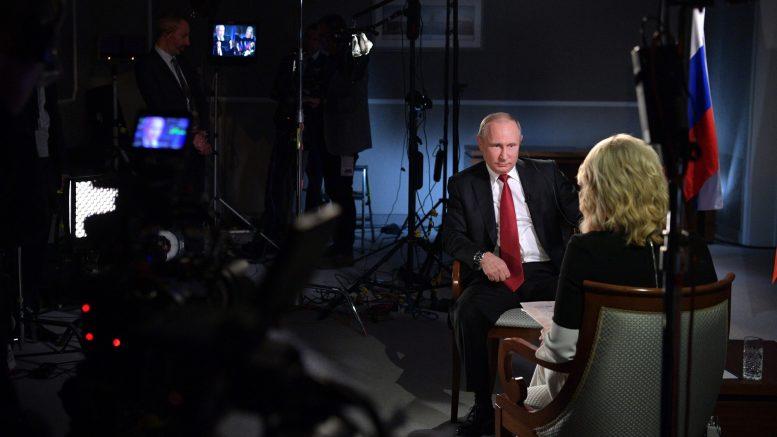 Чёрный верх, белый низ. Как американская цензура устроила обрезание интервью с президентом России