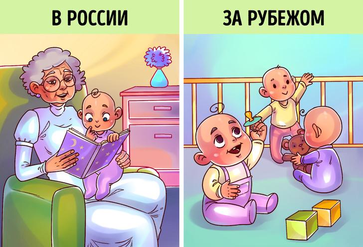 7правил воспитания отрусских мам, окоторых зарубежом даже неслышали