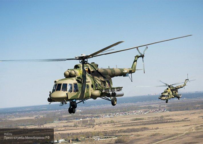Мощнее и защищеннее: ВКС РФ получили партию новейших Ми-8 АМТШ «Терминатор»