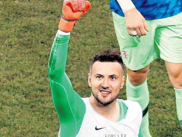 Вратарь сборной Хорватии все свои победы посвящает умершему другу