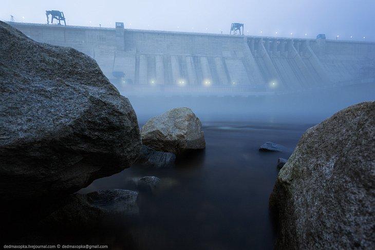 Прогулка по Бурейской ГЭС