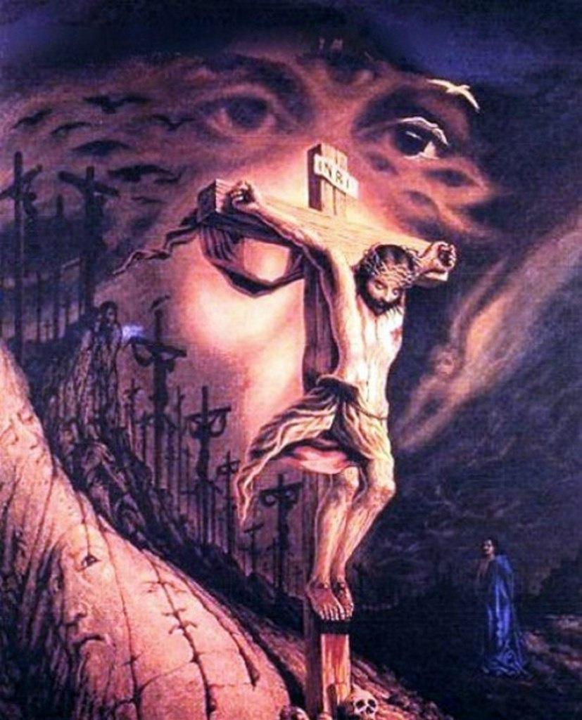 Картины художника Октавио Окампо 26
