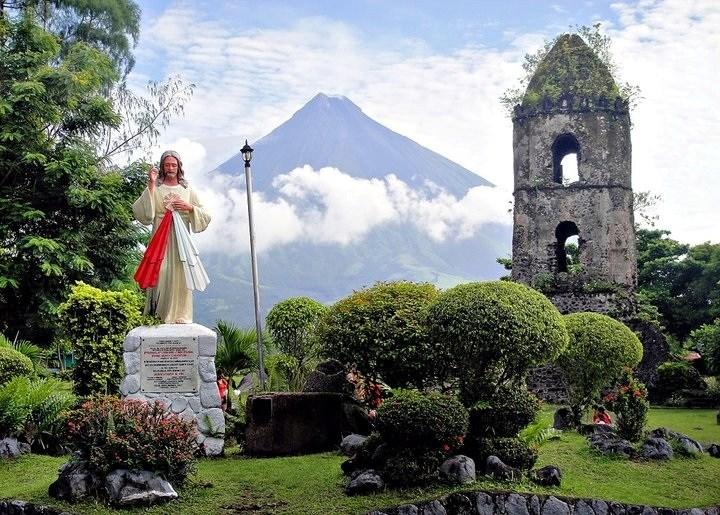 Руины Кагсава на Филиппинах.
