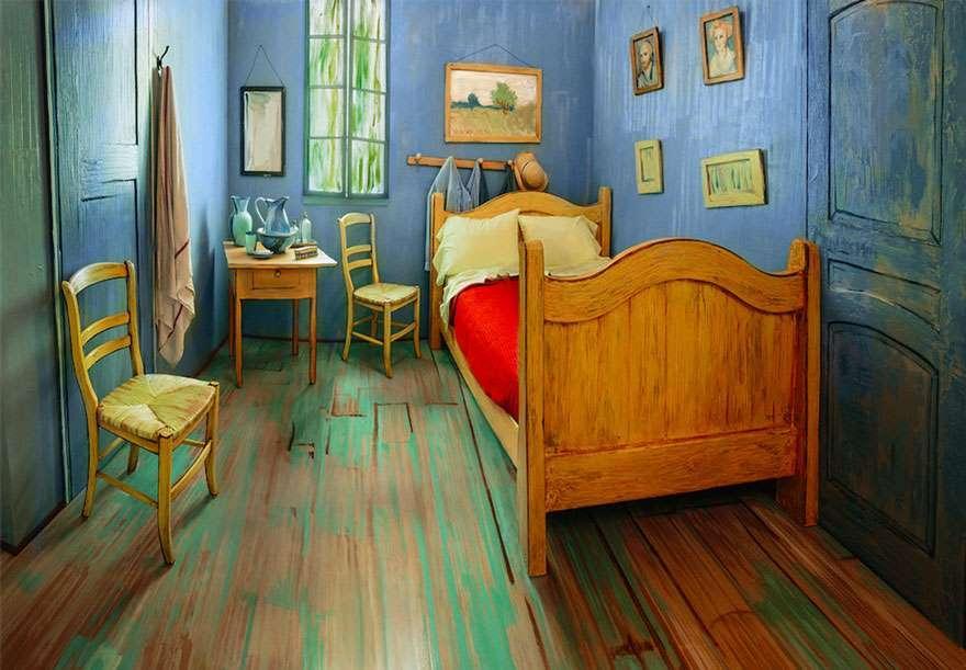 В США воссоздали знаменитую спальню Ван Гога и сдают её на Airbnb