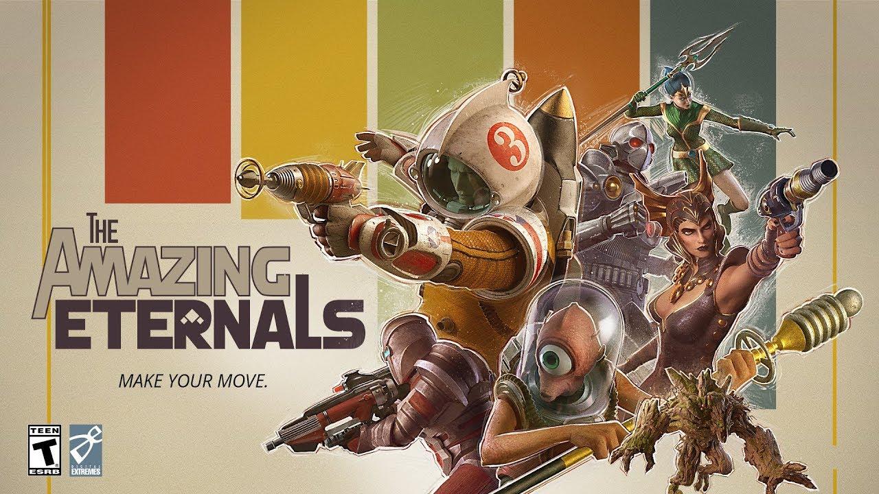 Стартовал ЗБТ шутера The Amazing Eternals