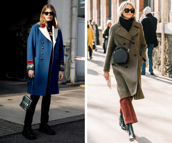 Как выбрать фасон зимнего пальто для женщин за 30: восемь крутых моделей
