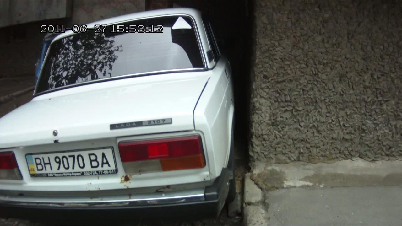 Попробуй так припарковаться