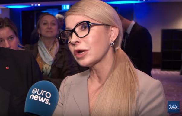 Тимошенко в интервью Euronews: «Крымская стена» падёт так же, как Берлинская