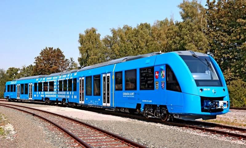 Водородный поезд: революция …