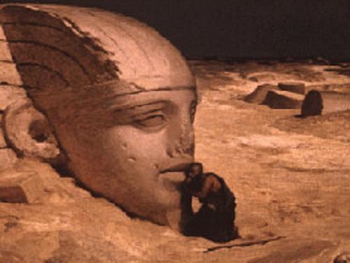 Древние усыпальницы, пирамиды и сфинксы