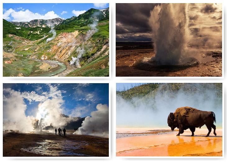 Самые известные гейзерные поля мира