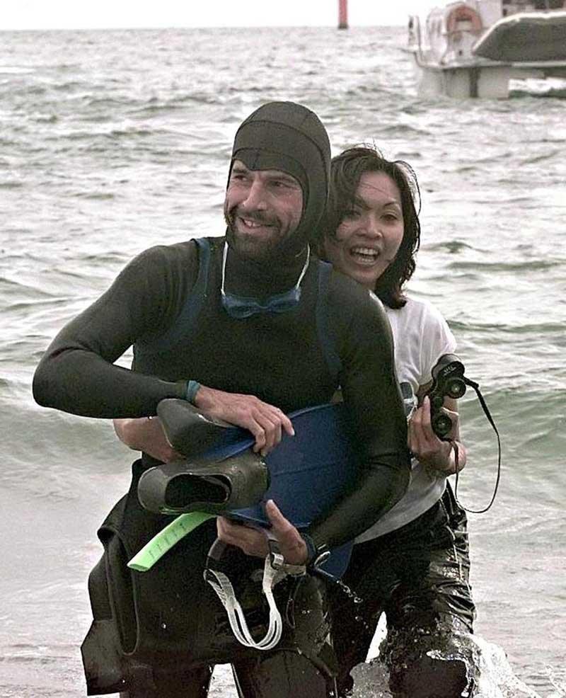 Француз собирается потратить 6 месяцев своей жизни на заплыв от Японии до США Японии, в мире, заплыв, люди, самовыражение, сша