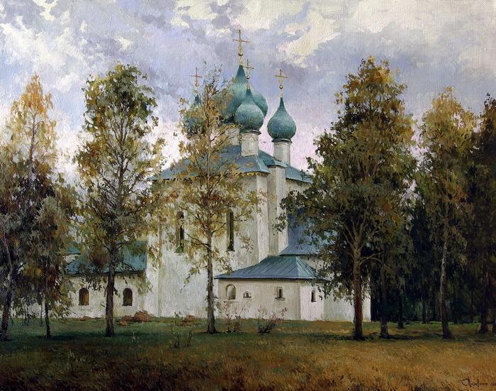 Всё ближе осень к Покрову… Художник Сергей Перидериев
