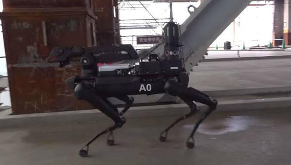 Под контролем: робот-собака Spot инспектирует строительные площадки