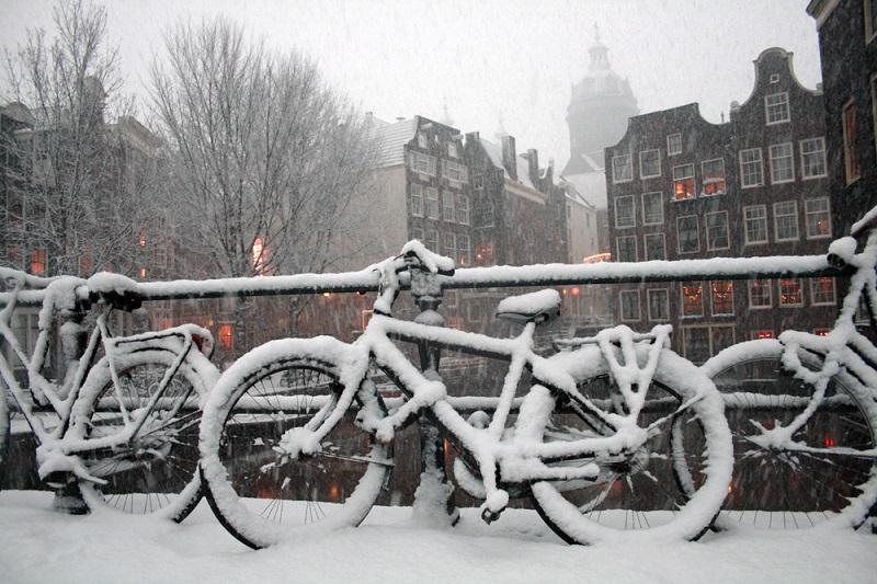 суровая зима 2018