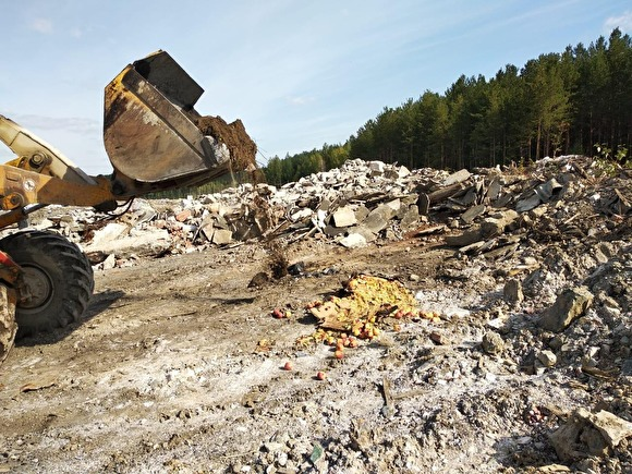 На Урале при поддержке ФСБ провели спецоперацию по уничтожению 77 кг яблок