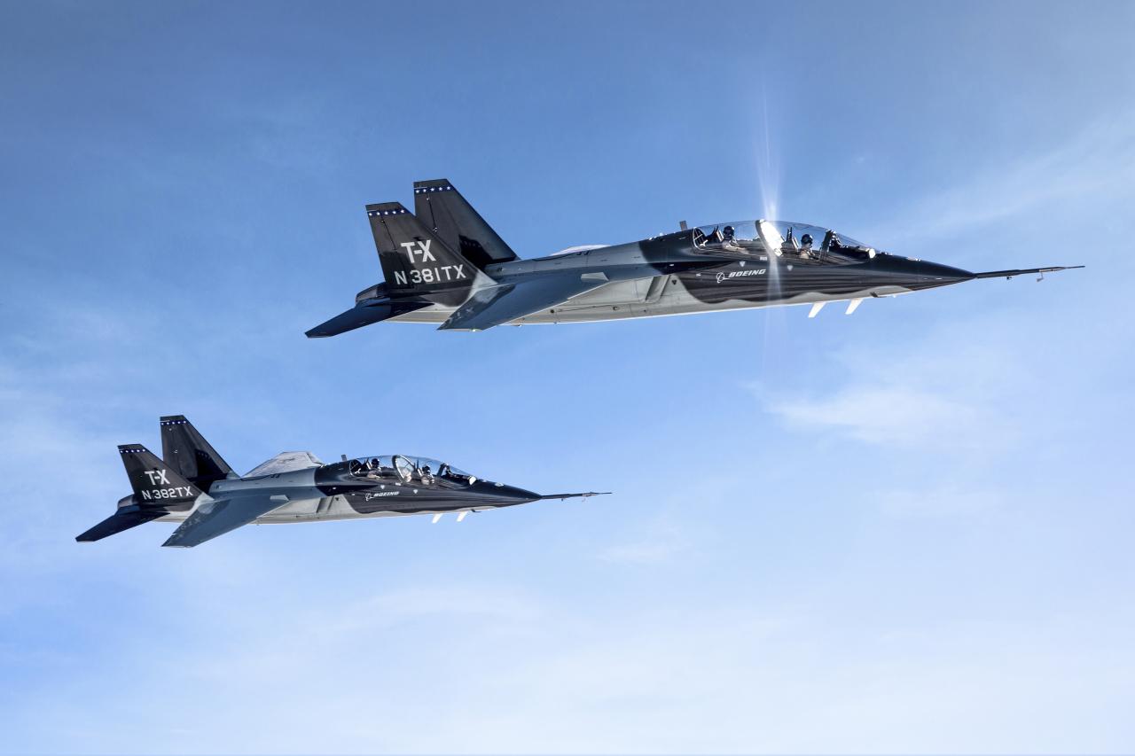 Boeing и Saab выиграли конкурс ВВС США на перспективный учебно-тренировочный самолет Т-Х